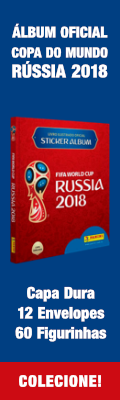 Álbum de Figurinhas Oficial da Copa do Mundo da Rússia 2018 - Colecione!